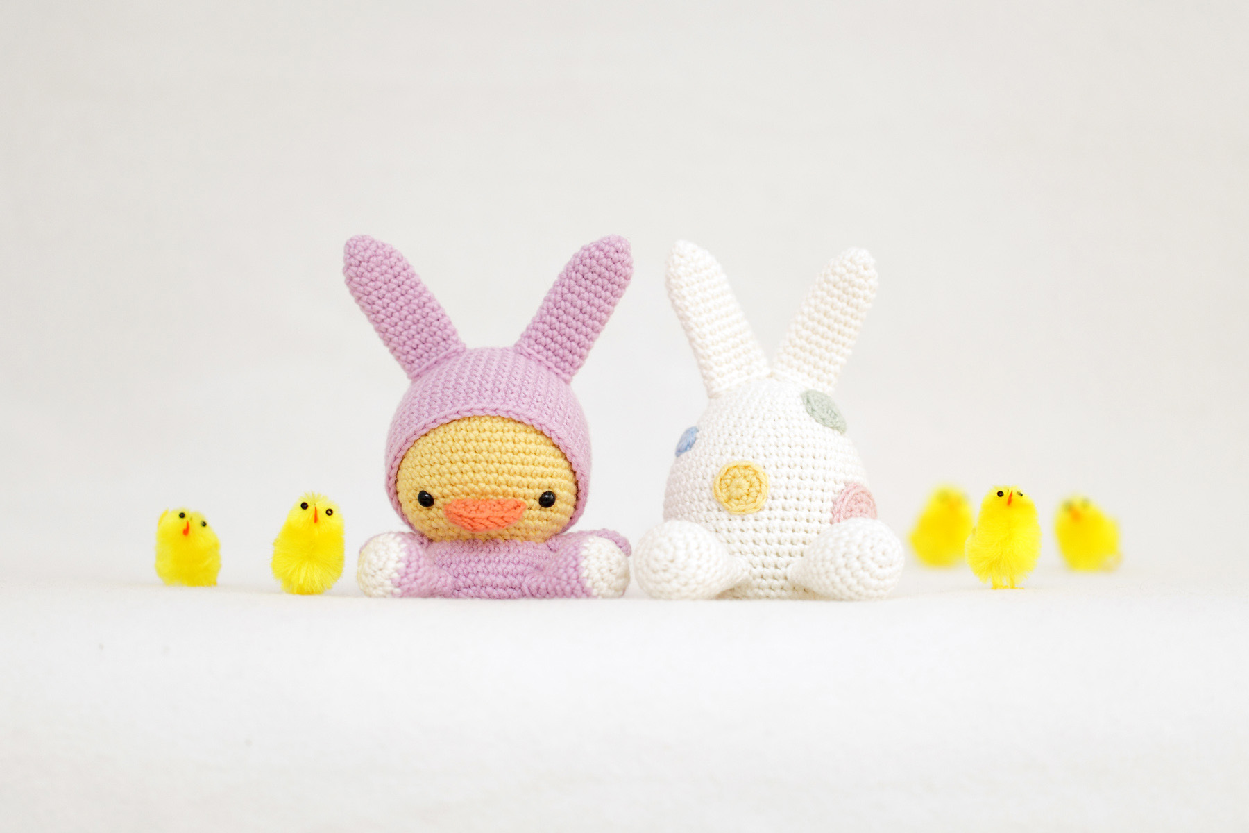 Easter Duckling and Egg