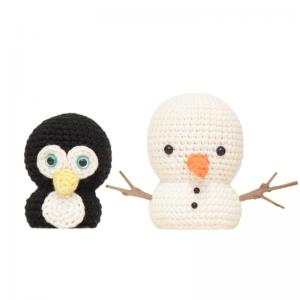 Mr Penguin & Snowman Patterns