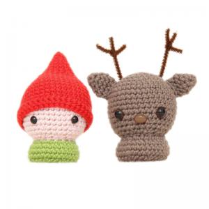 Little Elf & Reindeer Pattern